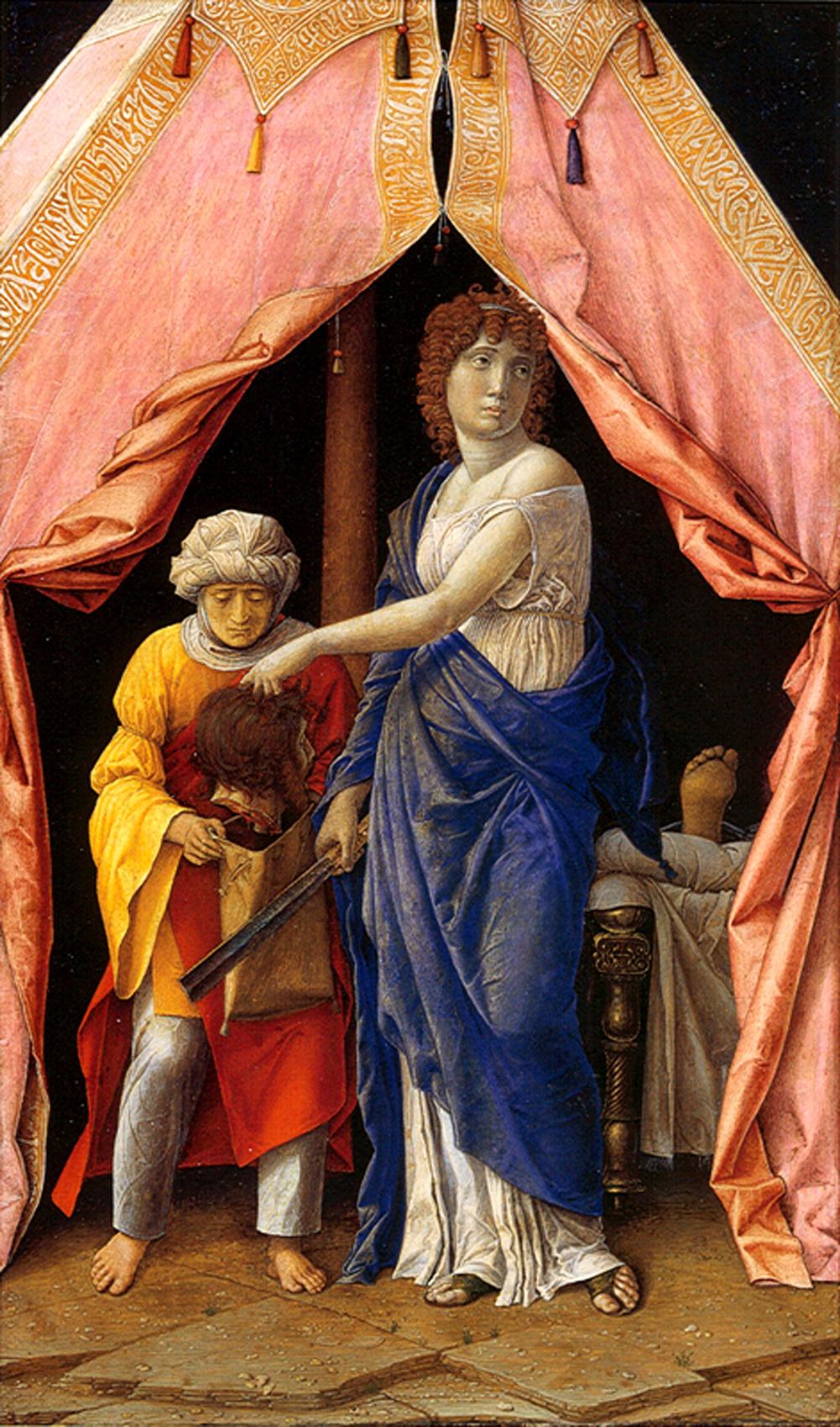 Andrea Mantegna, Judith und Holofernes, ca. 1495